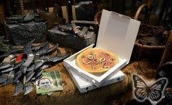 Internationale Spielemesse 2011 - Pizza!