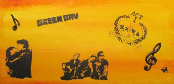 "Bild ""Green Day"" - Fertig!"