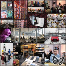 Leipziger Buchmesse 2013 - Collage