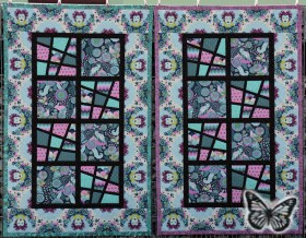 Magic Tiles Zwillings-Quilt 02