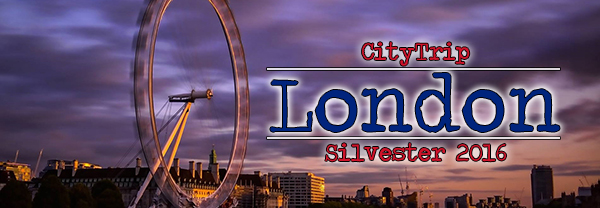 CityTrip London Silvester 2016