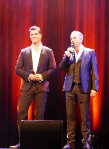 Gentlemen of Musical Jan Ammann und Kevin Tarte