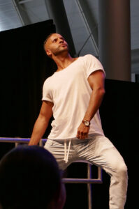 Comic Con Germany Ricky Whittle