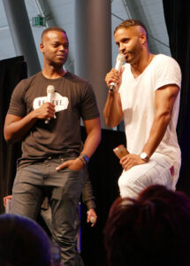 Comic Con Germany Ricky Whittle und Demore Barnes