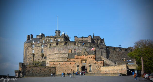 Edinburgh Castle Schottland 2016